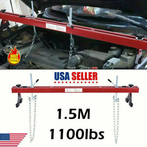 1100lbs Engine Load Leveler Capacity Support Bar Transmission With Dual Hook New