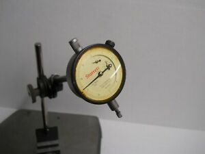 Starrett 657 Magnetic Base W 25 611 Indicator Post Assembly Used