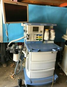 Narkomed Fabius Gs Anesthesia Machine With Vaporizers