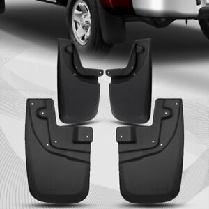 For 05 15 Toyota Tacoma Front Rear Mud Guards Splash Guards Mud Flaps 4pcs