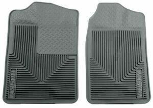 Husky Liner Heavy Duty Front Floor Mats grey Gm C k Trucks suvs 51012