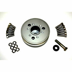 The Blower Shop 4232 Accessory Pulley Big Block Chevy Diameter 6 0 Width 1 800