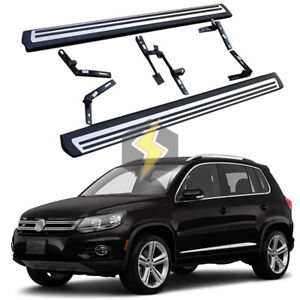 Us Stock S Steel Side Step Fit For Vw Tiguan 2010 2016 Running Board Nerf Bar