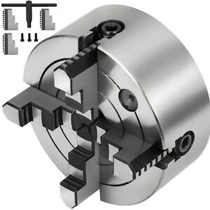 Lathe Chuck K72 160 6 4 Jaw 160mm Independent Design Precisely Cast Iron