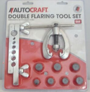 Autocraft Double Flaring Tool Set Sae Ac586
