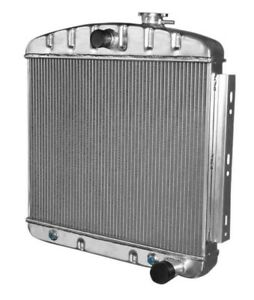 Kks Motorsports 3 Row Radiator 1955 1956 Chevy Belair Bel Air 6cyl Core Support