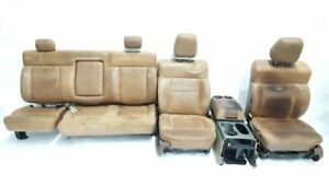 Full Set Of King Ranch Seats Center Console Oem 04 05 06 07 08 Ford F150