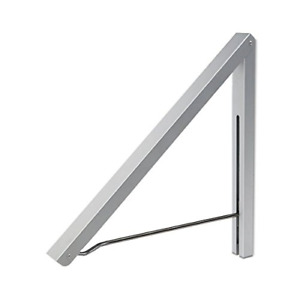 Wall Mounted Drying Clothes Hanger Folding Wall Coat Racks Aluminum Home Storage