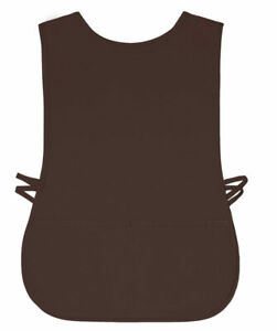 Brown Cobbler Apron 2 Pocket Craft Restaurant Baker Round Neck Usa New 2xl