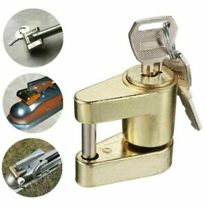 Trailer Hitch Safety Pin Lock Camper Locking Tow Bar Rv Hauling Boat Safe Bow