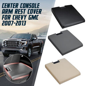 For Chevy Gmc 2007 2013 Car Center Console Arm Rest Cover Latch Lid Pu