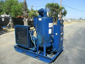Quincy 50 H p Screw Air Compressor Model Qsvi50an1a the Best In The Business