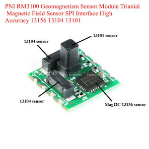Pni Rm3100 Geomagnetism Sensor Module Triaxial Magnetic Field Spi Interface