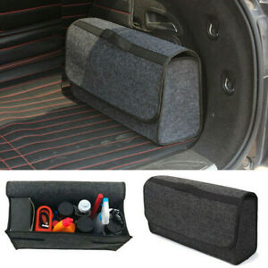 Trunk Cargo Organizer Foldable Caddy Storage Collapse Bag Bin Fit Car Truck Suv