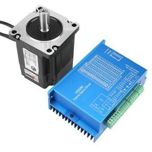 Nema34 Closed Loop Stepper Motor 4n m Hybridservo Driver Hss86h Kits Ac20v 80v