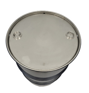 55 Gallon 304 Stainless Steel Drum Closed Top New Other Thick Two 2 Inch Bungs
