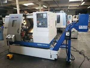 2005 Daewoo Doosan Lynx 220lc Cnc Turning Center Lathe Pristine Low Hrs