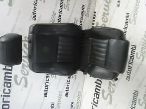 0102921060 Seat Front Right Passenger Electric Black Leather Alfa Romeo