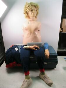 Laerdal Recording Resusci Anne Medical Training Manikin Emt Cpr Trainer