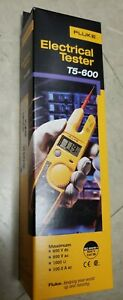 Brand New Fluke T5 600 Voltage Continuity And Current Tester 600v Ac dc
