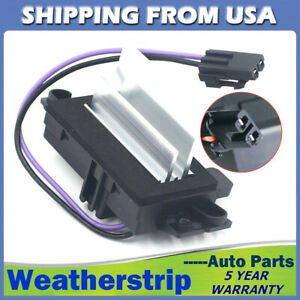 New Blower Motor Resistor Heater Control Module For 2003 2006 Hummer H2 4p1516