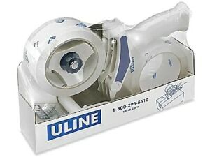 Uline H 2650 Industrial Tape Gun Dispenser Side Loader 2 Includes 2 Rolls New