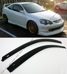 For 2002 2006 Acura Rsx 2 Door Coupe Dc5 Jdm Style Window Visors Rain Guard