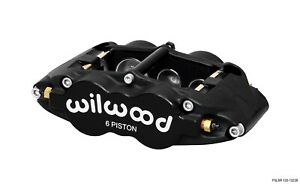 Wilwood 120 13238 Fsl6r 6 Piston Brake Caliper Radial Mount Stainless Steel Pist