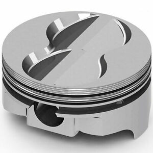 United Engine Machine Ic9922 040 Ford 347ci Fhr Forged Pistons Flat Top 4v 4 040