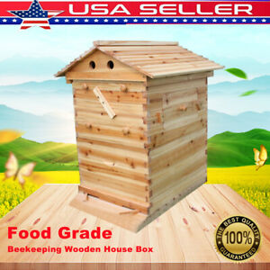 Useful Pro Bee Hive Bee House Beekeeper Tool For Honey Frames max 7pcs Us
