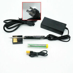 Ts100 Dso Digital Soldering Iron With Bc2 Tip Us Power Supply Fast Charge