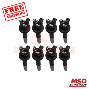 Msd Ignition Coil Fits Ford Mustang 2011 2014