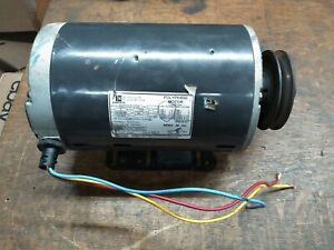 Emerson 2 Hp Polyphase Electric Motor 200 230 460vac 3ph 1725 Rpm Fr56 Tested