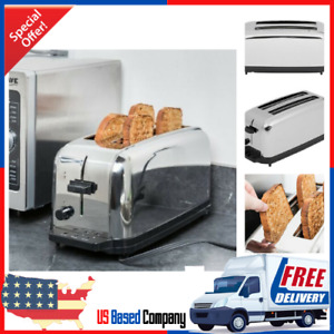 Waring 4 Slice Commercial Toaster Nsf 120v 1500w