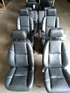 Complete Set Of Seats Opt An3 Electric 10 11 Escalade Free Shipping