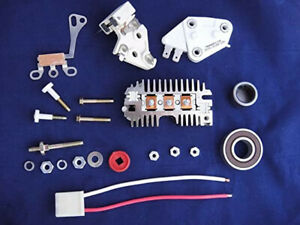 Alternator 10si Repair Rebuild Kit Delco Chevy Gm Regulator Brushes Rectifier Ne