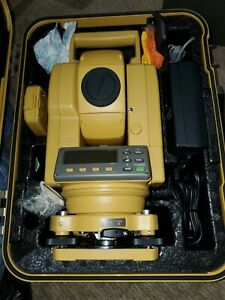 Topcon Gts 212 Electronic Total Station New Land Survey Equipment Wuth Case