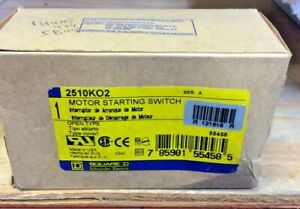 Square D 2510ko2 Motor Starter Switch