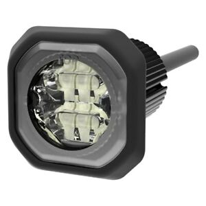Ecco 1 3 Ed9040 Series Bolt On Mount Amber White Led Hideaway Strobe Light