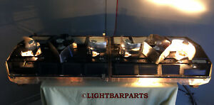 Code 3 Mx7000 Lightbar 36 Red Clear Security Towing Plowing Hauler Light