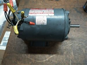 Dayton 1hp Industrial Electric Motor 208 220 440vac 3ph Fr56 3450rpm 3n636