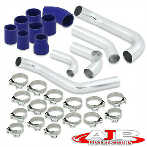 2 5 Turbo Charged Piping Kit Clamps Couplers For 2006 2011 Honda Civic R18a1