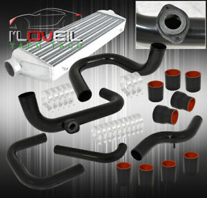 For 96 00 Civic 28 X7 X2 5 Intercooler Bolt On Turbo Piping Kit Bov Adapter