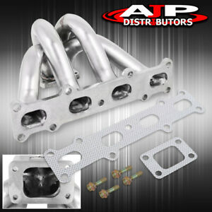 For 94 05 Mazda Miata Mx5 1 8l T25 T28 Turbo Exhaust Manifold Stainless Steel