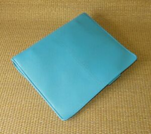 Classic Franklin Covey new Ocean Sim Leather Audrey 1 5 Ring Planner binder
