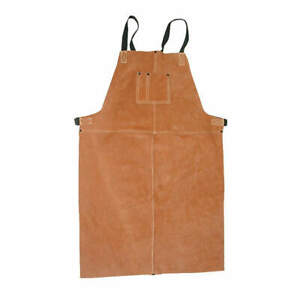 Welding Bib Apron leather 36 X 24 In 5t179