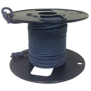High Voltage Lead Wire 22awg 50ft blk R800 1022 0 50