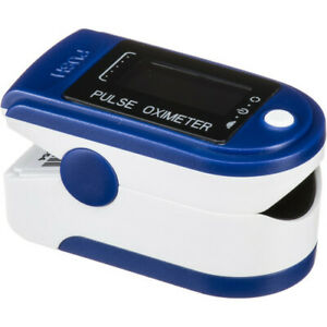 Contec Deluxe Pulse Oximeter Blood Oxygen Level Monitor Brand New Sealed