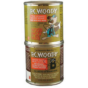Pc Products 163337 Epoxy wood Filler tan 12 Oz Can