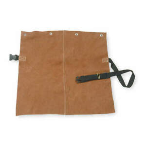 Condor 5ac71 Detachable Welding Bib leather 19x20 In